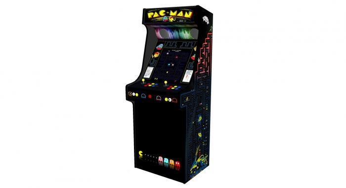 Classic Upright Arcade Machine - PacMan Theme - V2 - retropi 15000 games subwoofer right