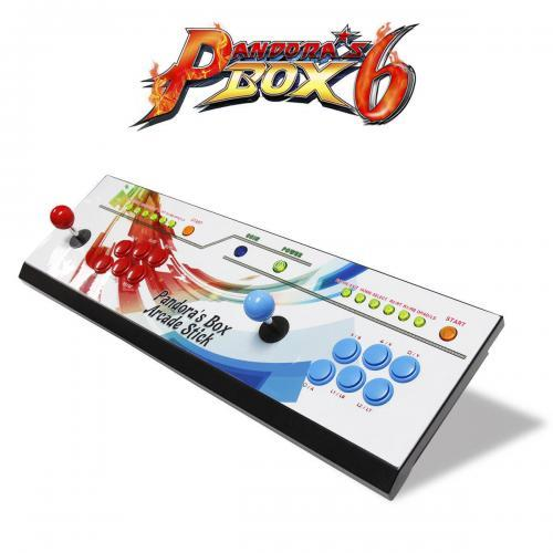 Pandoras Box 6 - 2in1 Fightstick and Arcade Console with 1300 games