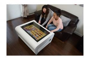 Modern Coffee Table Style Arcade Machine With 960 Plus Games - 2 player front