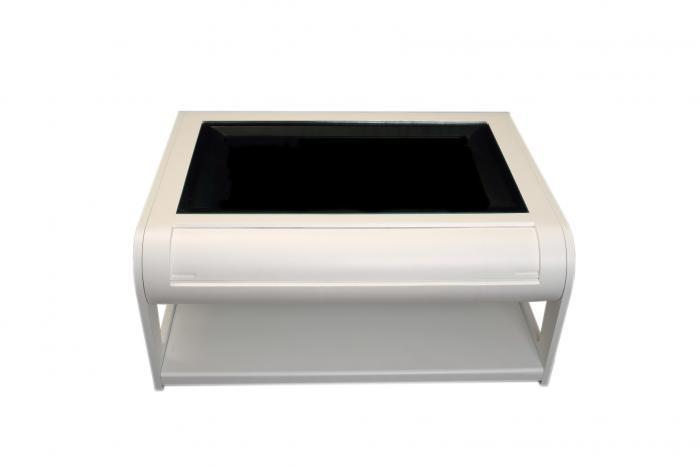 Modern Coffee Table Style Arcade Machine With 960 Plus Games - front view - closed flap