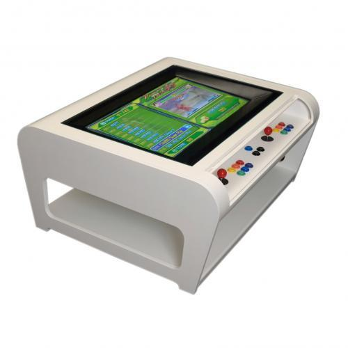Modern Coffee Table Style Arcade Machine With 960 Plus Games - side view