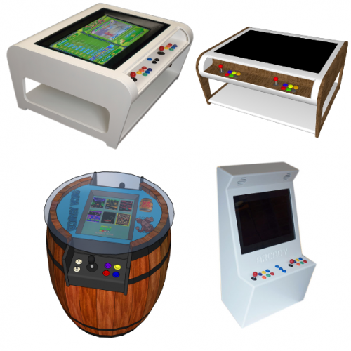 Modern Arcade Machine Designs