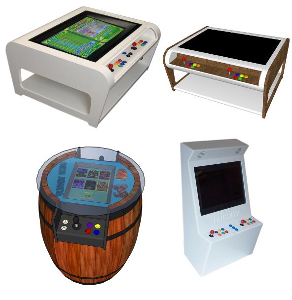 Modern Arcade Machine Designs Arcadecity