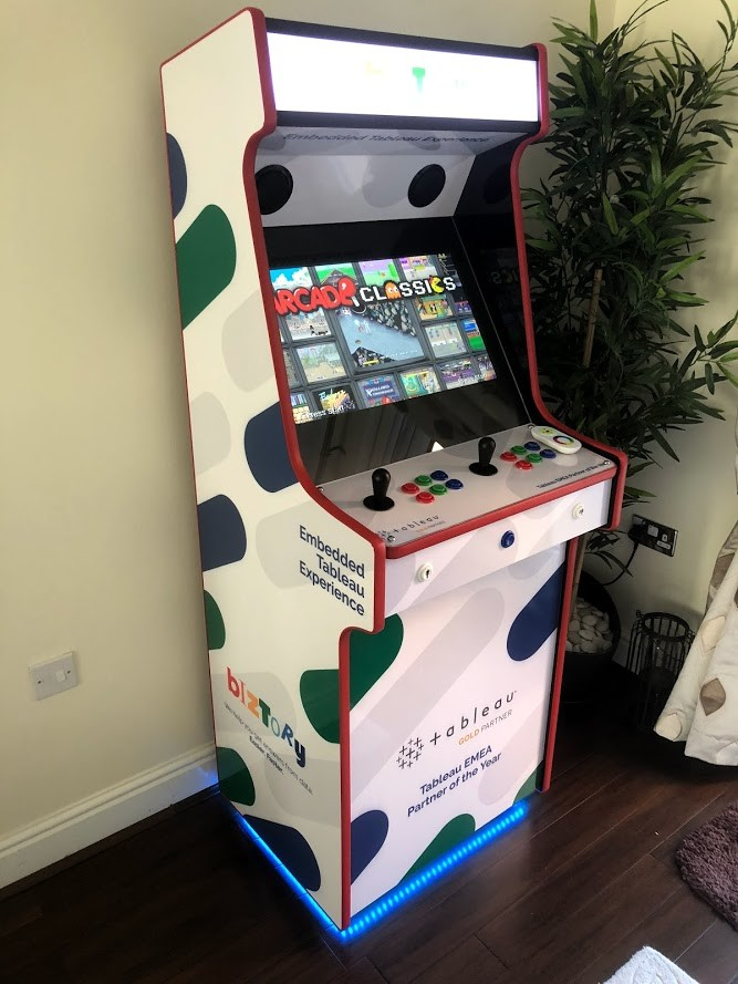 Bespoke Retro Arcade Cabinet With Hyperspin 50 000 Games