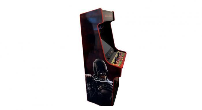 Classic Upright Arcade Machine - Mortal Kombat theme - v4 - left photo