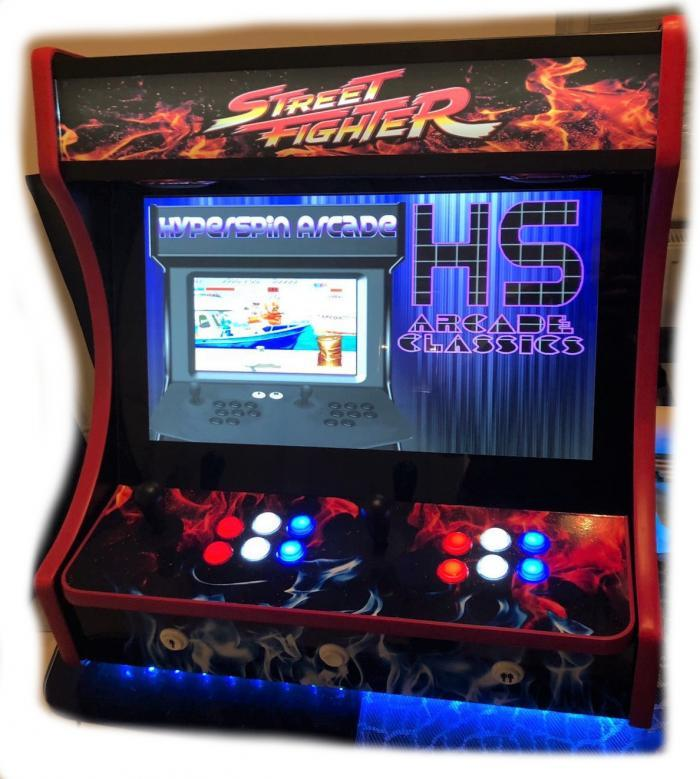 Gallery - Bartop Street Fighter With Hyperspin 30,000+ games