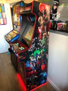 Gallery - Dave Webb - Mortal Combat Arcade with illuminated buttons Kent