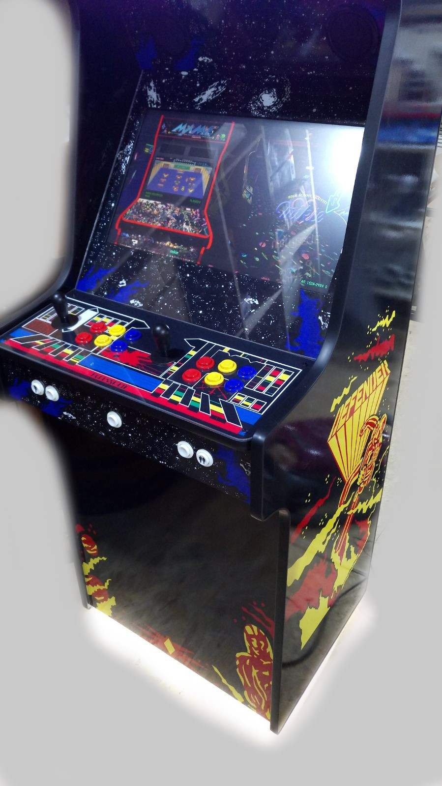 Defender-Arcade-Machine-2-Player-Upright-with-15000-games-retropi-rasberrypi