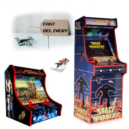 Arcade Machines With Fast 3-5 Day Delivery