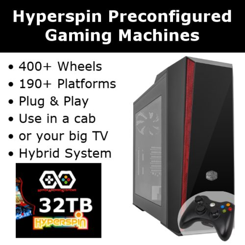 Hyperspin Preconfigured Gaming Machines