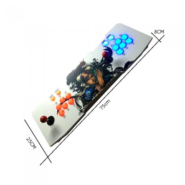 Home Arcade Console Game Box FightStick with 15000 Games dimensions
