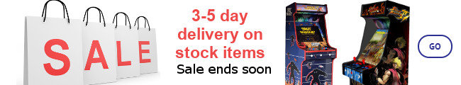 Arcade Machines on Sale With Fast 3-5 Day Delivery
