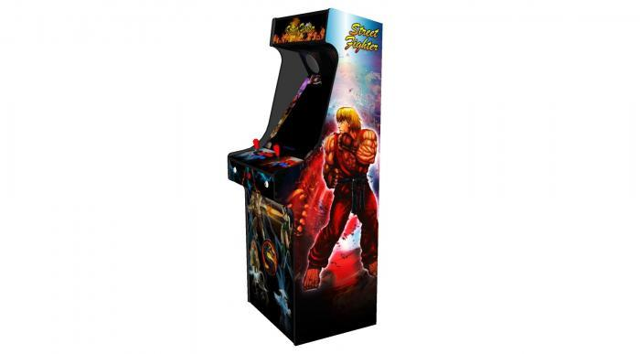 Classic Upright Arcade Machine - Street Fighter Theme v2 100w subwoofer 24 inch screen-right