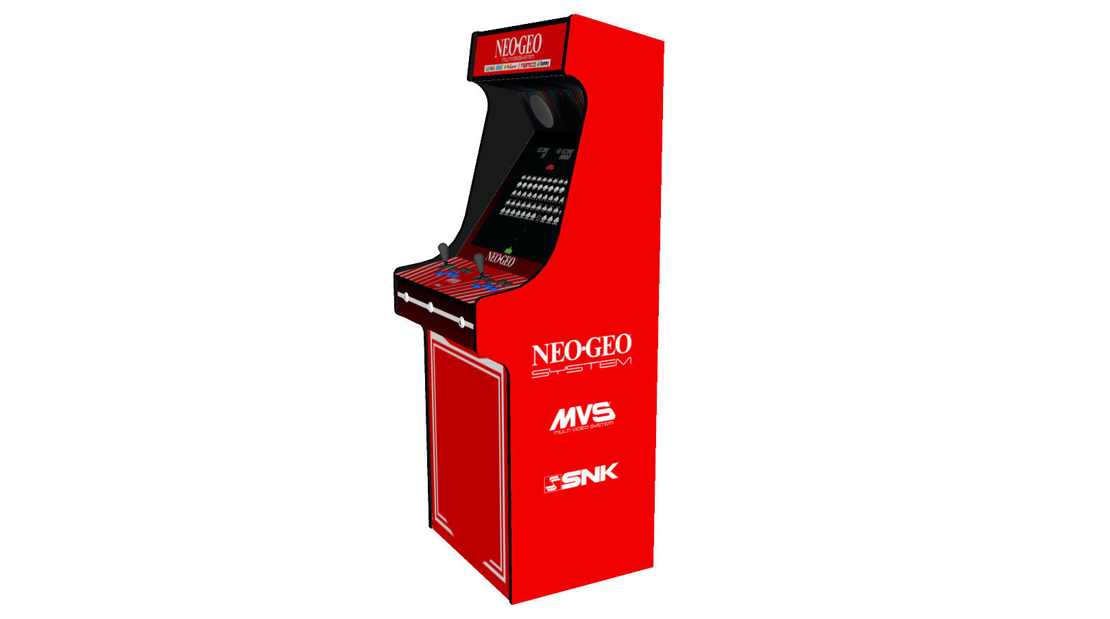 Classic-Upright-Arcade-Machine-NEO-GEO-Theme-100w-subwoofer-24-inch-screen-right