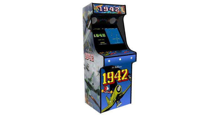 Classic Upright Arcade Machine - 1942 Theme - Left