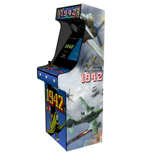 Classic Upright Arcade Machine - 1942 Theme - Right