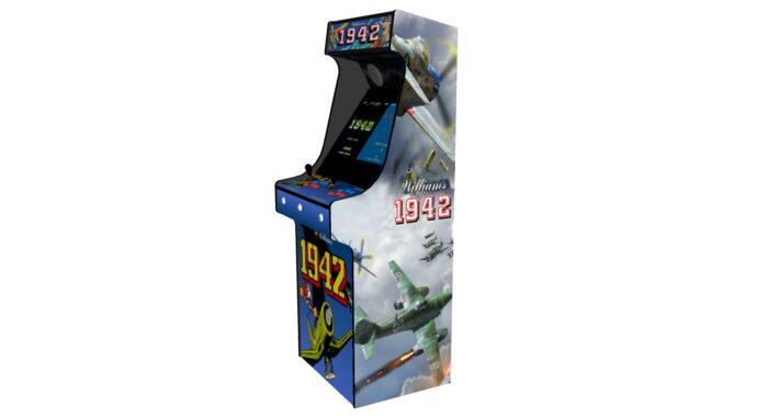 Classic Upright Arcade Machine - 1942 Theme - Right