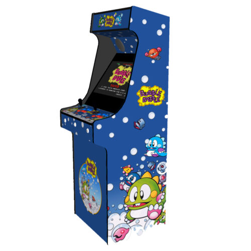 Classic Upright Arcade Machine - Bubble Bobble Theme - Right