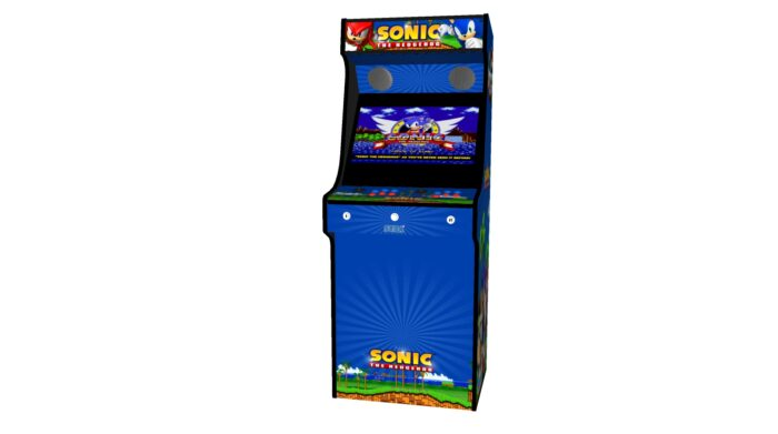 Classic Upright Arcade Machine - Sonic The Hedgehog Theme - Midde