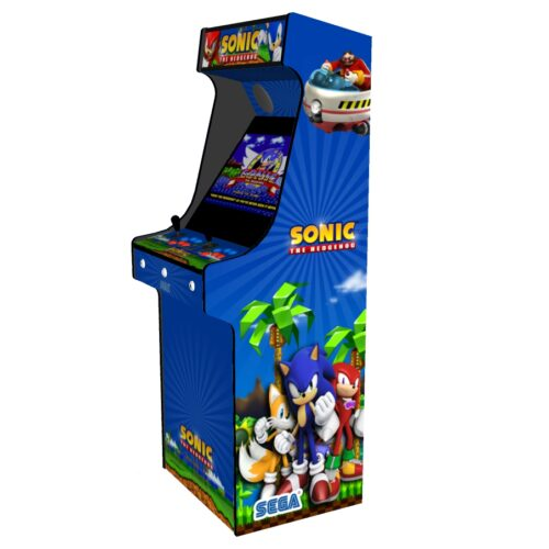 Classic Upright Arcade Machine - Sonic The Hedgehog Theme - Right