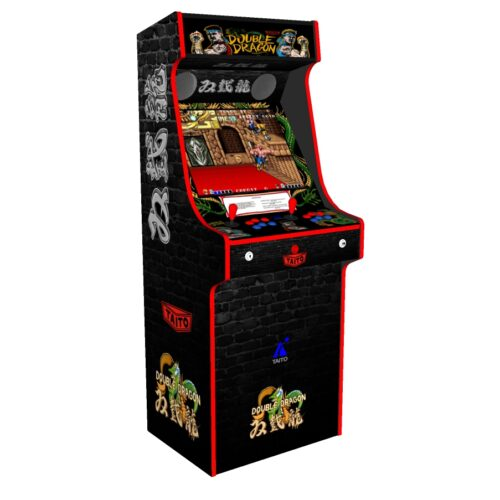 Classic Upright Arcade Machine - Double Dragon Theme v2 3000 games - Left