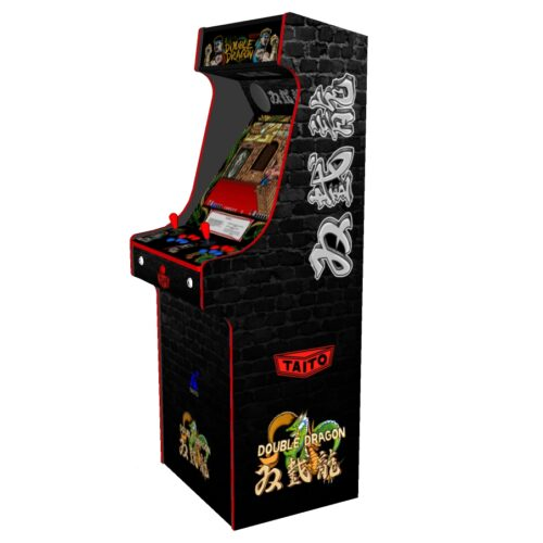 Classic Upright Arcade Machine - Double Dragon Theme v2 3000 games - Right