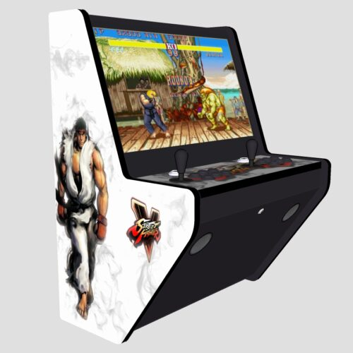 Wall Arcade 3000 Games Street Fighter 5 Theme - Left