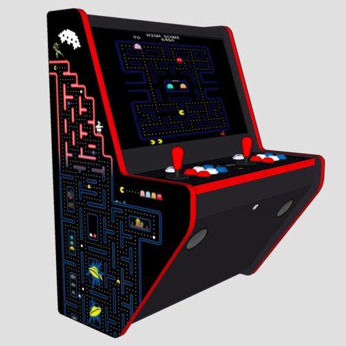Wall Arcade 3000 Gmes Pacman Theme - Left