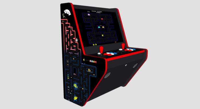 Wall Arcade 3000 Gmes Pacman Theme - Left