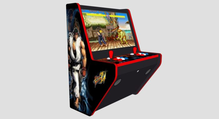 Wall Arcade 3000 Gmes Street Fighter Theme - Left