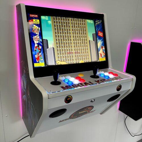 Wall Arcade 15000 Games Mortal Kombat v2 Theme