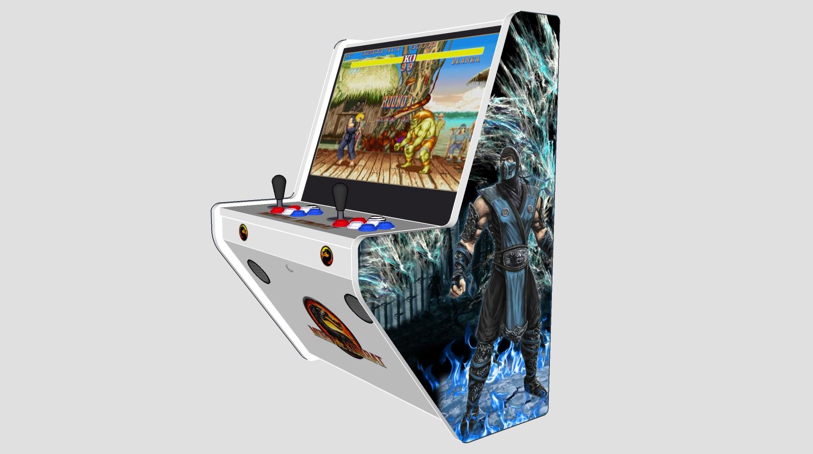 Wall Arcade 15000 Games Mortal Kombat v2 Theme - Right