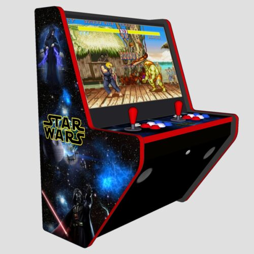Wall Arcade 3000+ Games Star Wars Theme - Left - red tmold