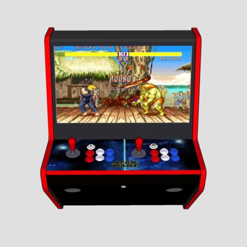 Wall Arcade 3000+ Games Star Wars Theme - Middle - red tmold