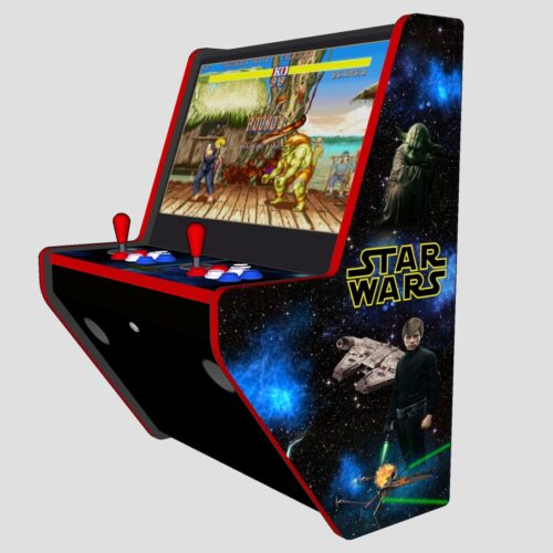 Wall Arcade 3000+ Games Star Wars Theme - Right red tmold