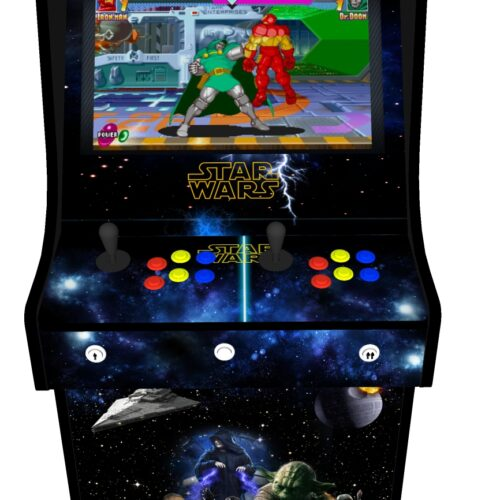 Classic Upright Arcade Machine - Star Wars v2 - Buttons