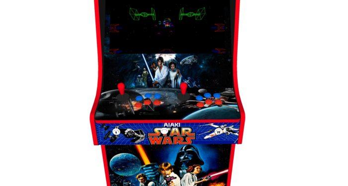 Classic Upright Arcade Machine - Star Wars v3 - Buttons