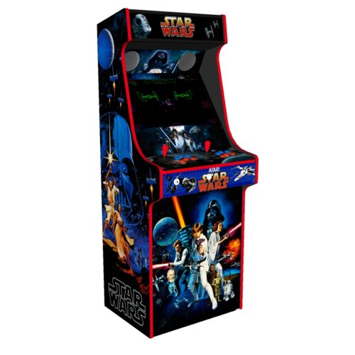 Classic Upright Arcade Machine - Star Wars v3 - Left