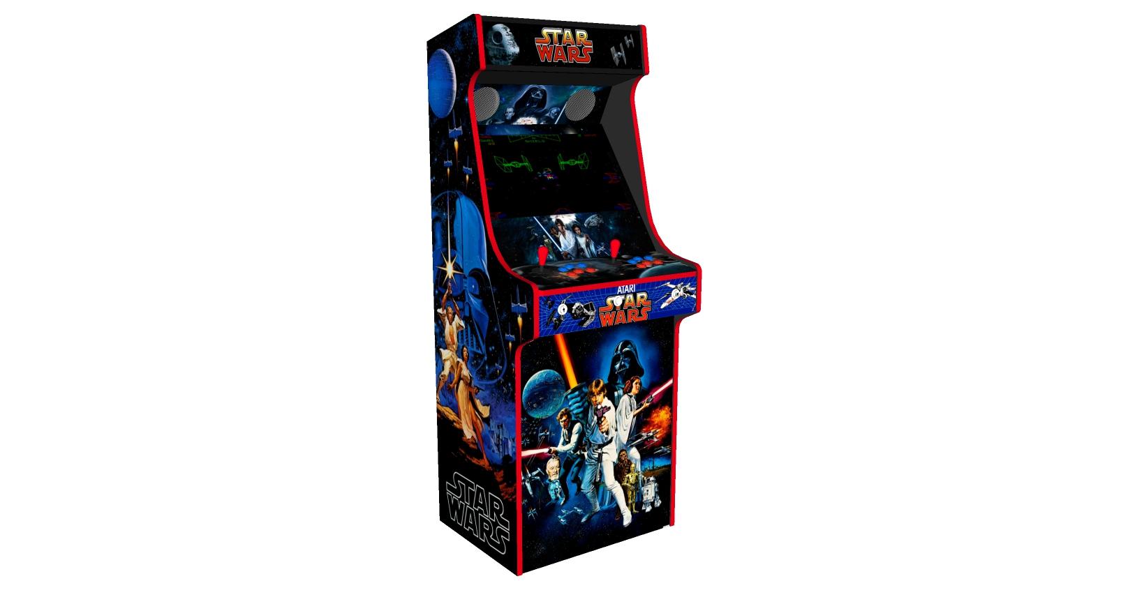 Classic Upright Arcade Machine - Star Wars v3 - Left