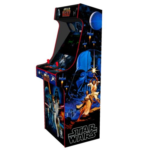Classic Upright Arcade Machine - Star Wars v3 - Right
