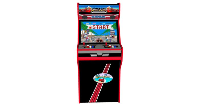 Outrun - 27 Inch Upright Arcade Machine - American Style Joysticks - Red Tmold - Middle