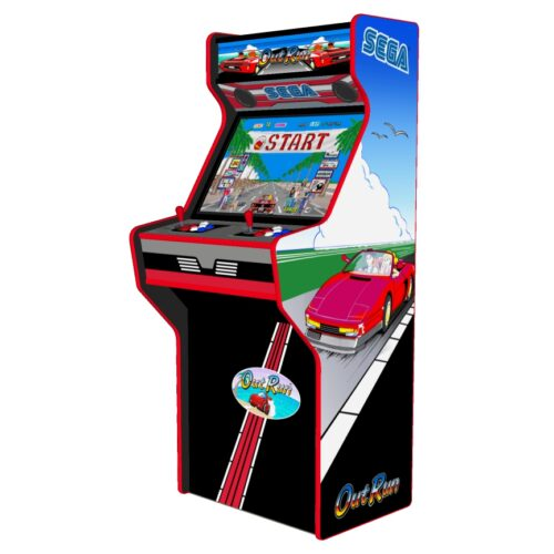 Outrun - 27 Inch Upright Arcade Machine - American Style Joysticks - Red Tmold - Right
