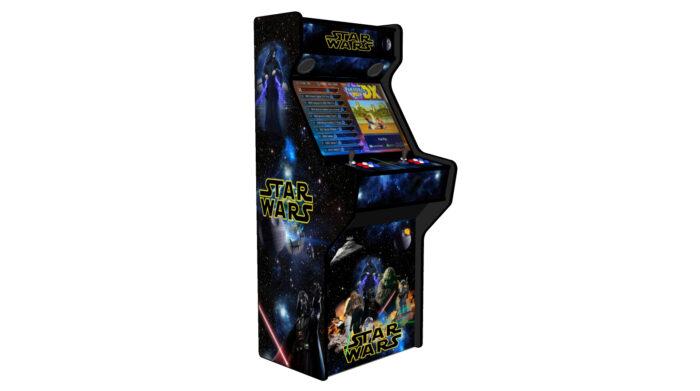 Star Wars 27 Inch Upright Arcade Machine - American Style Joysticks - Black Tmold - left