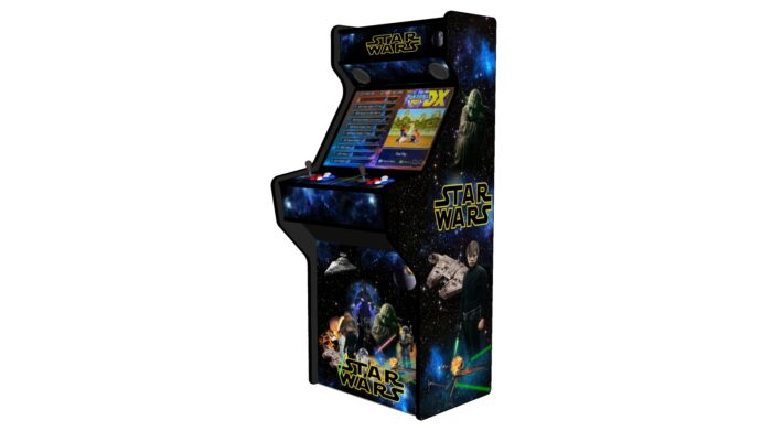 Star Wars 27 Inch Upright Arcade Machine - American Style Joysticks - Black Tmold - right