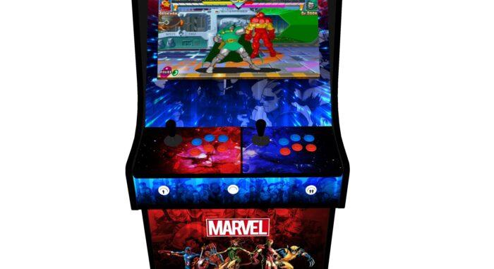 Classic Upright Arcade Machine - Marvel vs Capcom Theme v2 - Buttons