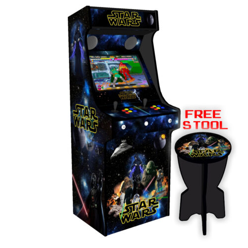 Classic Upright Arcade Machine - Star Wars v2 - Left