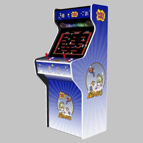 Bubble Bobble - 27 Inch Upright Arcade Machine - American Style Joysticks - white Tmold - right